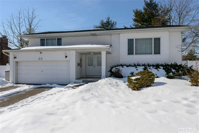 Wonderful Home In The Jericho Sd.  Features Include 4 Bedrooms,  3 Full Baths,  Spacious Entertainment Rooms,  An Oversized Banquet Dining Room And An Inviting Den That Highlights A Wood Burning Fireplace.  Generous Property With An In Ground Pool,  Multi Tiered Deck And Verdant,  Usable Property. Jericho Sd.