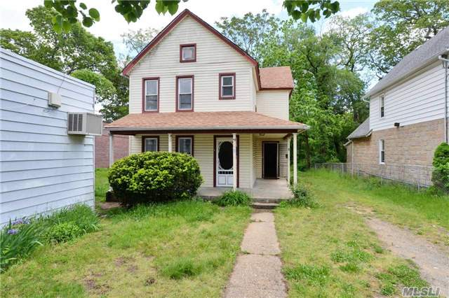2 Family On Over-Sized Lot For Sale Plus Commercial Office For Sale! Needs Complete Renovation. Also Known As 1025 Woodfield Road. No Access To Interior Of Property. Cash, 203K Or Commercial Financing Only.