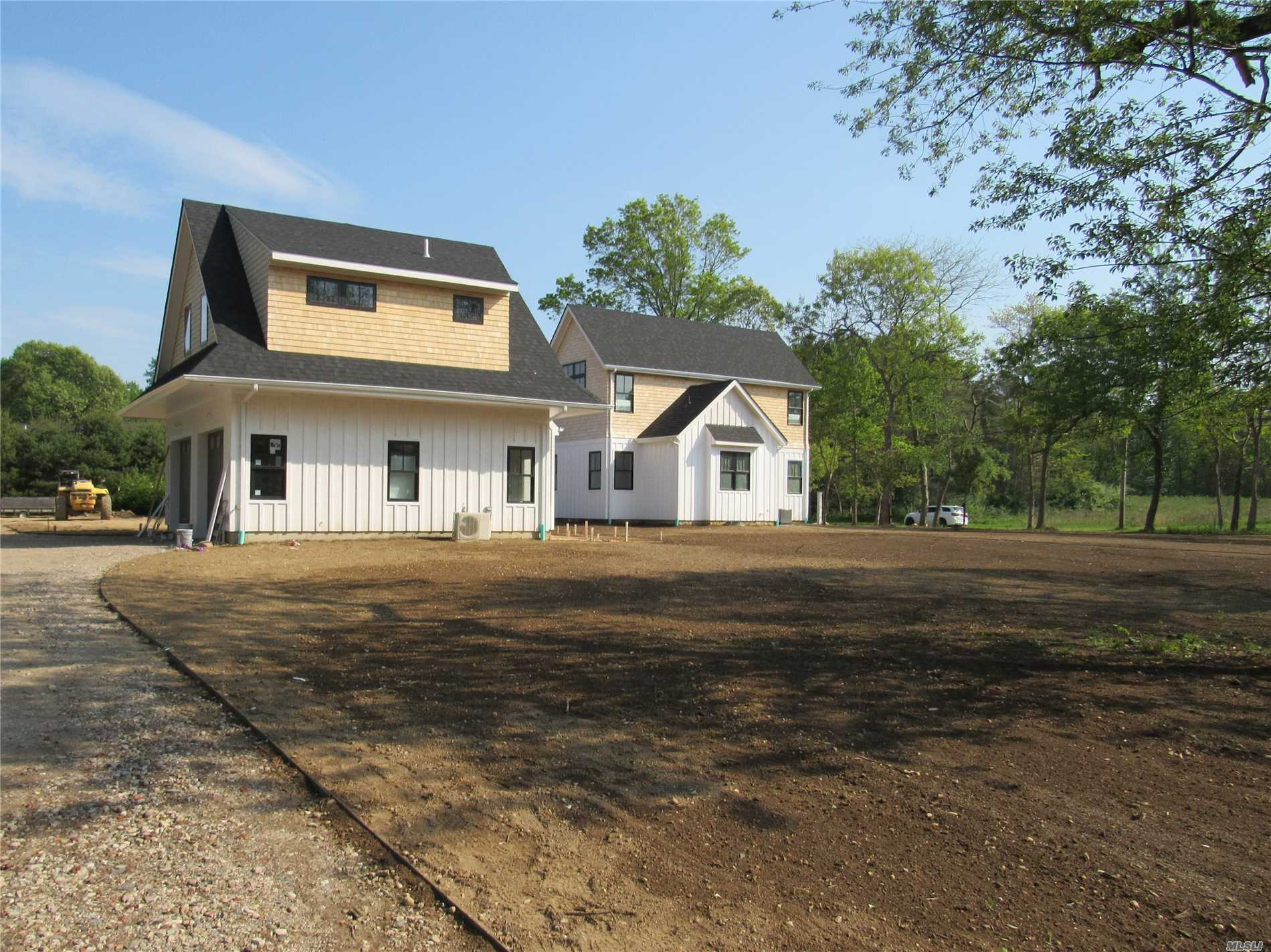 This Well Thought Out Property Is Designed For A 3, 868 Square Feet Home With 2 Master Suites And 3 Additional Bedrooms With Bathrooms, The Kitchen Is Suited For Any Cook. The Garage Has A Living Space Above For Additional Guests. Also A Pool House And A 20X40 Gunite Pool. If This Sounds Amazing It Gets Better, Right Now The Finishes Could Be To Your Liking.