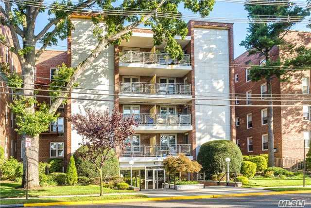 Top Flr End Unit, 2 Bdms, Living Rm, Dining Rm, Kit W/Granite, Stainless Steel Apps, Closets Galore, Upd Bath, Some Hw Flrs, Maint W/O Star Shown, 530 Shares, New Elevators, Laundry, Party Rm, Bike Rm, Storage Rm, Elegant Entry Foyer, Security Cameras, 2 Garages ($65/Mo), Outdoor Parking $15/Mo, Ample Free Street Parking, Freeport Utilities, 90% Max Financing. Near All!