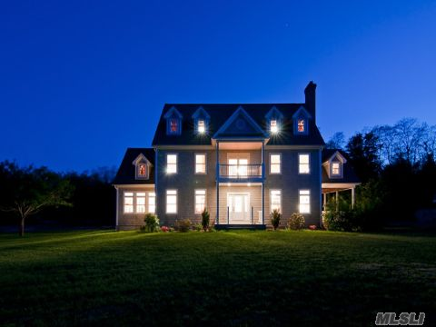 Center Hall Colonial with 2nd & 3rd floor waterviews of Sound