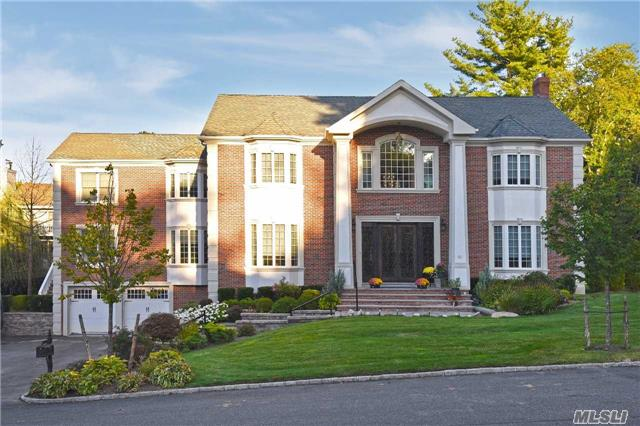 Approx 6, 000 Sq Ft Stunning Brick Colonial Built 2014, Featuring The Finest Craftsmanship & Architectural Details. Beautifully Appointed Rooms, Gourmet Kit W/Lg Center Island. Radiant Heat. Sonos Audio System. Top-Of-The-Line Designer Baths. Newly Updated Basement With Kitchen, Movie Room, Gym, And Also A Separate Entrance. Prestigious Herricks Sd.