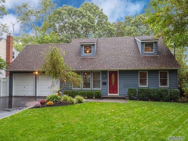 Renovated, Charming-Very Spacious-Updated Kitchen (2016) W/Granite Countertops/Stainless Steel Appliances, Ceramic Tile.  Gas Stove, Furnace Can Be Easily Converted. Upgraded Bathrooms, Anderson Windows, Wood Floors. Large Backyard W/Deck. Near Village, Lirr, Shopping! Ready To Move In!