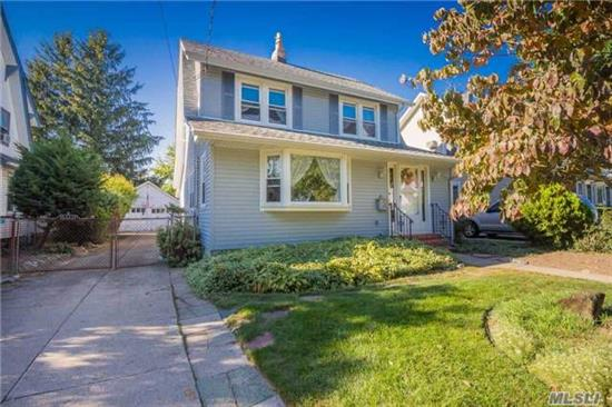 Bright & Airy Dutch Colonial. Including Original Banister & Door Knobs, Pinewood Floors Throughout. Main Floor Features Enclosed Entry Foyer W/Double Closet, Lr W/Gas Fireplace & Mantel, Newer Bay Window Looks Out To Yard, Formal Dr, Office W/Bay Window, Eik W/Pantry & Laundry. 3Br, 1.5 Baths.