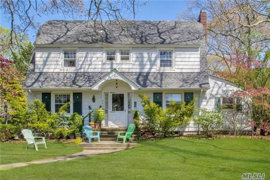 Beautiful Colonial On Large Property In Brightwaters. Hardwood Floors Through Out House. Living Room, Dinning Room,  House Needs Work. Can Be A Beautiful Project!  Owner Is Willing To Fix Roof For Decent Offer.