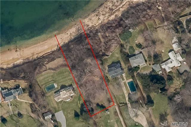 The Lot, Which Features 110 Ft Of Water Frontage, Sits On A 60 Ft High Bluff Overlooking The Li Sound. Located In The Beautiful Town Of Southold, This Land Is Ideally Located Near Hortons Point Lighthouse, Hashamomuck Pond, And Many Other Attractions. The Most Economical Soundfront Building Lot East Of 105!