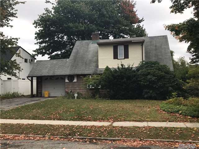 Great Expanded Ranch, 4 Bedroom, 2 Full Baths, Must See. Make This House Your Own. Gas Cooking, Mid Block Location. Great For A Contractor / Builder. House Sold As Is