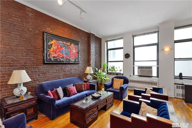 This Classic Soho Style Loft Is 2305 Sqft, And Can Be Easily Converted Into Two Or Three Bedrooms (Feel Free To Check With Your Architect). Just Walk One Block Down And You Are In The Soho Shopping Area, Super Prime Location. Apartment Has 7 Over-Sized Windows, With Windows On Both Ends Of The Apartment. Bring Your Designer And Create The Loft You Have Always Dreamed Of.