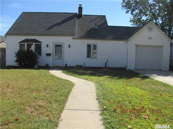 24 Hour Notice Required.....  Tenant Occupied      200 Amps,  Roof Less Than 6 Years Old.  1/3 Garage (Storage),    Move In Ready Extended Cape Freshly Painted Near All. Up The Block From Town Pool,  Park,  Bowling Alley,  Movie Theatre,  Shopping And Mass Transportation.