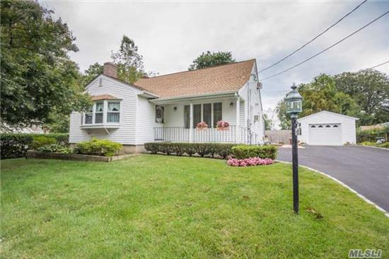 Excellent Exp Cape, Large Living Rm, Formal Dining Rm, Large Eik W Gas Cooking, 3 Bedrooms, 2 Full Updated Baths, Enclosed Sunroom, Hardwood Floors, Anderson Windows, Ductless A/C, Gas Heat, 1.5 Car Garage W/Multiple Car Driveway, Lg Shed. Must See!