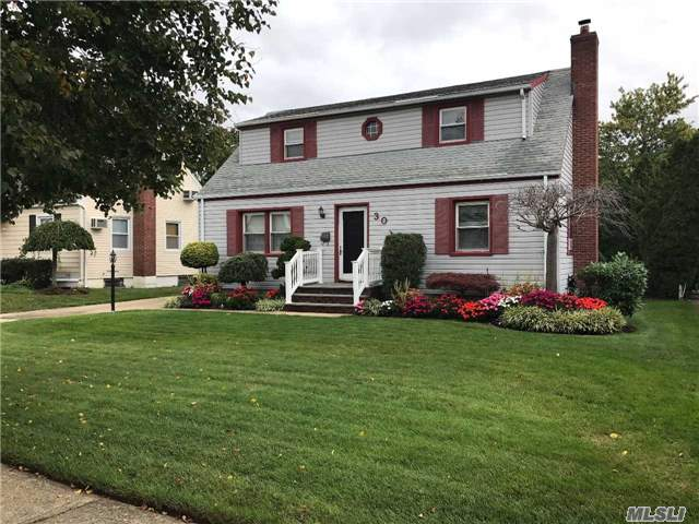 The American Dream Starts Here! Expanded Briarcliff Cape, 4 Bedroom 2 Full Baths, Kitchen, Formal Dining Room. Hardwood Floors, Finished Basement. Updated Kitchen & Baths. In-Ground Sprinklers, Gas Heating And Cooking. Awarding Winning Schools. The Only Thing Missing Is You!