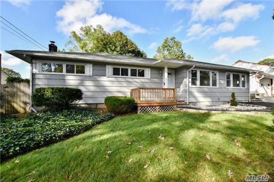 Renovated Ranch Home. Featuring All New Windows, Kitchen, Full Bath, And Driveway. Home Offers 3 Bedrooms, Hardwood Floors Throughout And A Large Den. Huge Full And Open Unfinished Basement. S. Huntington Schools #13. A Location That Can't Be Beat!