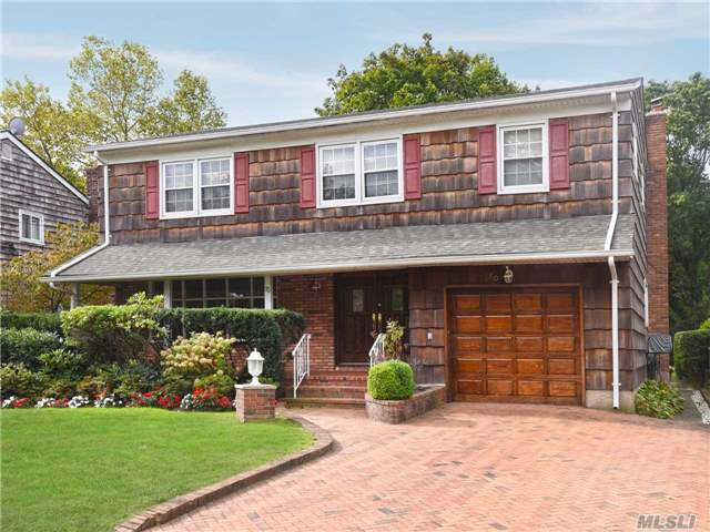 Unique Opportunity To Purchase A Colonial With All Large Rooms In Hewlett Schools #14. House Features Hardwood Floors, Great Layout,  Den Off The Kitchen That Leads To Parklike Property 185 Ft Deep. Spacious Bedrooms, & Good Closets,  Needs Updating But Very Clean!. Close To Grant Park, Lirr, Worship & Shopping.