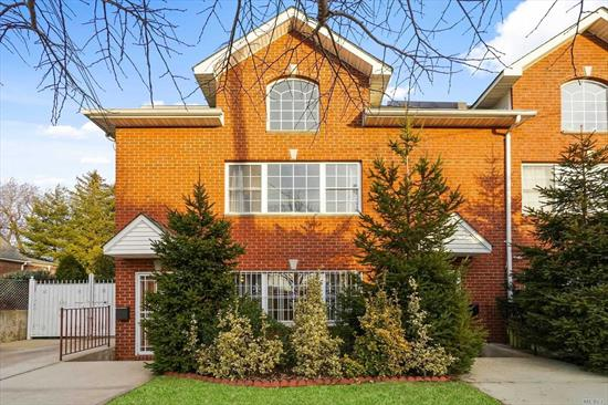Built In 2008 This Home Is Only 10 Years Old. 3 Story Brick 2 Family-2 Side By Side Duplex Apartments. Separate Entrances For Each Apt. Beautiful Windows Give A Lot Of Natural Sunlight, Ss Appliances, Full Finished Basement, Wood Floors, Private Yard.