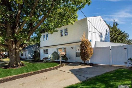 Totally Renovated 5 Bed 2 Bath Colonial. Beautiful Custom Cabinet Lined Eik W/ Ss Appliances And Quartz Counters. 2 Gorgeous Custom Full Baths W/ Waterfall Showers. Fully Paid Solar Panels. Hw Floors, New Roof, New Hw Heater, Crown Moldings, Cac, High Hats Throughout, Maintenance Free Deck, Enclosed Sunroom. Must See!!