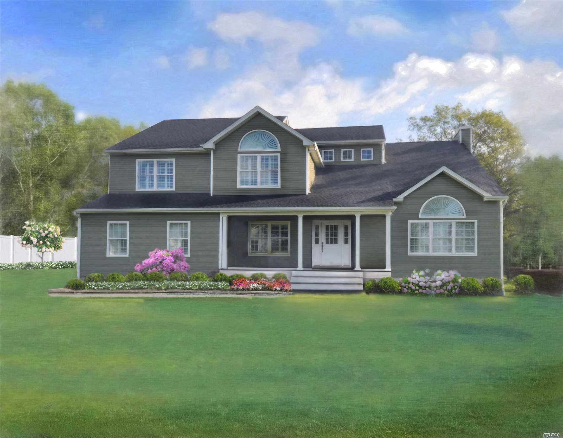 Construction Has Just Started!!!Largest Brand New Development In Town Just Unveiled- 59 Brand New Custom Fully Detached Homes On 1/2 To 1Acre+ Private Lots. Luxury Amenities Inc In Pricing. 7 Models. As Little As $2500 On Contract New Homes Ranging From $400'S To $600'S. No Common Charges Or Hoa. Offering 6-18 Mo Extended Deliveries. Save $ While U Wait Or Sell Your Home.
