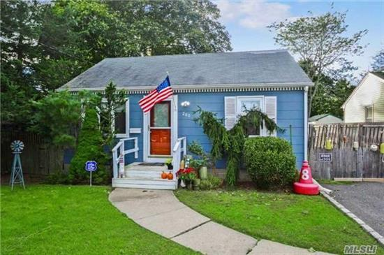 Why Rent When You Can Own!Perfect Home If You Are Just Starting Out Or If You Are Looking To Downsize. Situated On Large Property Room To Expand. Minutes To Great South Bay. Close To All Shopping, Restaurants, Transportation. Shore Front Park And Ymca. Gas In The Street. Located In X Zone