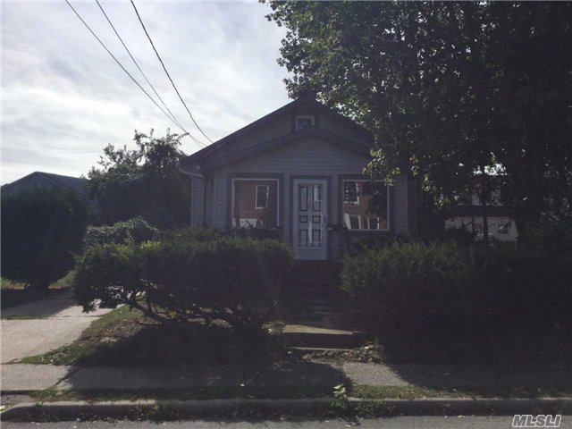 Two Bedroom Ranch W/ Plenty Of Potential. Hardwood Floors Under Carpets, Walk Up Attic. Front Windowed Sun Porch And Room For 4 Car Driveway. Don't Miss This Opportunity. All Appliances As Is Condition.