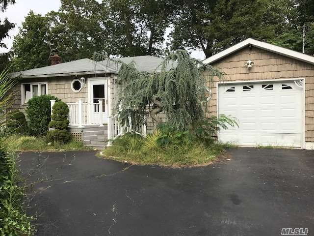 Calling All Investors! Great Opportunity. Needs Total Renovation. Large Kitchen, Dining Rm With Sliders To Backyard, Living Rm, Bedroom With Full Bath, 2 Addl Brs, Main Bath. Access From Garage Into House And Basement. Full Basement, Not Finished. No Appliances; Utilities Not Turned On. Please Bring Flashlight When Viewing.