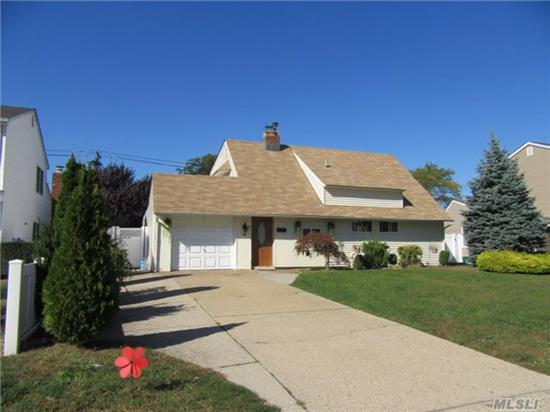 Beautiful Single Family Cape Home Located On Quiet Block Of Peaceful Residential Neighborhood In Westbury. This 1, 192 Square Foot Home Sits On A 7500 Square Foot Lot And Includes 4 Bedrooms, 2 Full Bathrooms, Lots Of Closet Space, And Is Also Close To Nearby Grocery Stores, Coffee Shops, Restaurants. Priced To Sell!