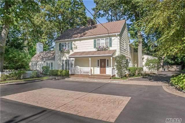 Sun Filled Gracious Colonial, Large Rms, Excellent ++ Condition, Huge Fdr With Fplc, Fam Rm With Fplc, Flr, Eik, Br Plus A Full And A Half Bath On The First Floor. Expanded Master Suite With New Bath Plus 4 Large Bedrooms On The 2nd Floor With 2 Baths. Closets, Closets, Closets!! Walk To All. 5% Tax Reduction Approved Letter On File