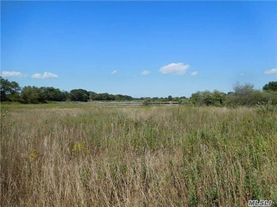 Agricultural Level And Cleared Land Includes A 2 Acre Building Lot. Would Make A Great Horse Farm, Tree Farm, Plants, Greenhouses, Etc. Water, Electric On South Street. Easy Commute To The Hamptons.