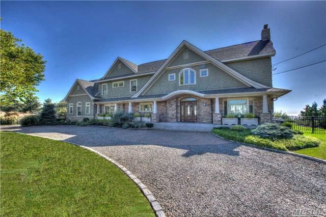 The Moorings Bay Front On .91 Acre. Situated On The Great South Bay. This Hamptonesque Colonial Was Built In 2014 Using Only The Finest Of Materials & Craftsmanship. 24 Hour Gated Community With Protected Marina & Tennis Courts. Flood Zone X And No Sandy Damage!