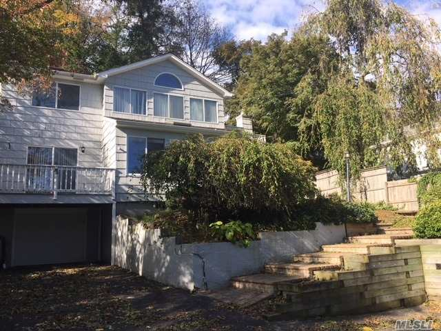Low Taxes! Move-In Ready Village Home With Harbor Views. Conveniently Located To All By Land Or By Sea! New Chef's Kitchen, Updated Bth. Hassle-Free, Easy To Maintain Courtyard Stone Patio. Bedroom On 1st Floor. Observation Deck Off Dining Room. Upstairs Bedroom With Deck. Garage! Low Taxes!