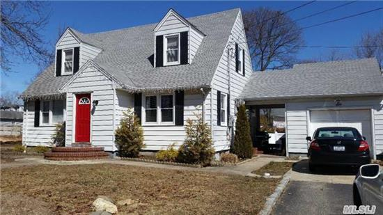 Flat .27 Acre In The Triangle Of Melville. Updated Kitchen, Granite, Finished Basement With Bath. 1 Bedroom Legal Accessory Apartment- $1500 Monthly Income- Legal! Hardwood Floors- Above Ground Pool. Close To All! Shopping, Highways. South Huntington Schools!