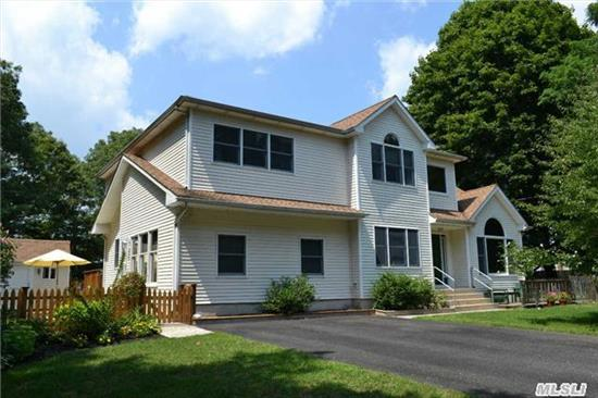 Amazing Young Colonial With Room For W/Proper Permits, On Level Fenced Property At The End Of A Quiet Street, Offering Nice Privacy, Spacious, Bright Open Floor Plan, Wood Burning Fpl In Family Room, Cac, Central Alarm, Bsmt W/ Ose, Igs, Many Ceiling Fans And Hi Hats, Pride Of Ownership!