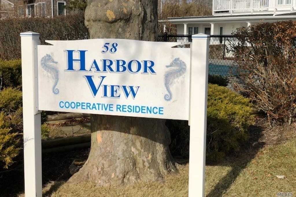 Nestled In The Heart Of The Quaint Village Of Westhampton Beach, This Harbor View One Bedroom Cooperative Unit Is A Hidden Gem Between Main Street And The Ocean Beaches.There Is A Swimming Pool For The Complex. Views Of The Harbor And The Bay Are An Added Plus! Taxes Include The Monthly Maintenance Of $504.