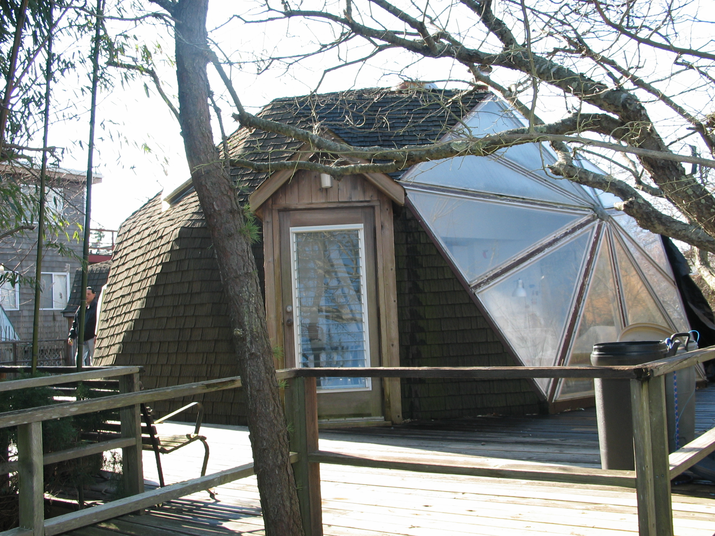 EXCLUSIVE LISTING: Buckminster Fuller Kit House with Dome