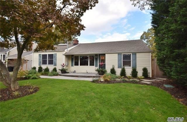 Live In The Hbca Beach Community...4 Br Ranch, Flat Yard, Updated Home, Curb Appeal, Harborfields Sd,  New Hardwood Flooring Installed In Great Room & Dr (2005),  Cac (2006), Gas Stove Fireplace (2007), Paver Patio (2007), Hall Bathroom Reno (2009) Driveway & Blue Stone Walkway (2016), Fence And Sprinklers (2016), New Stainless Steel Appliances In Kitchen (2017) And More!