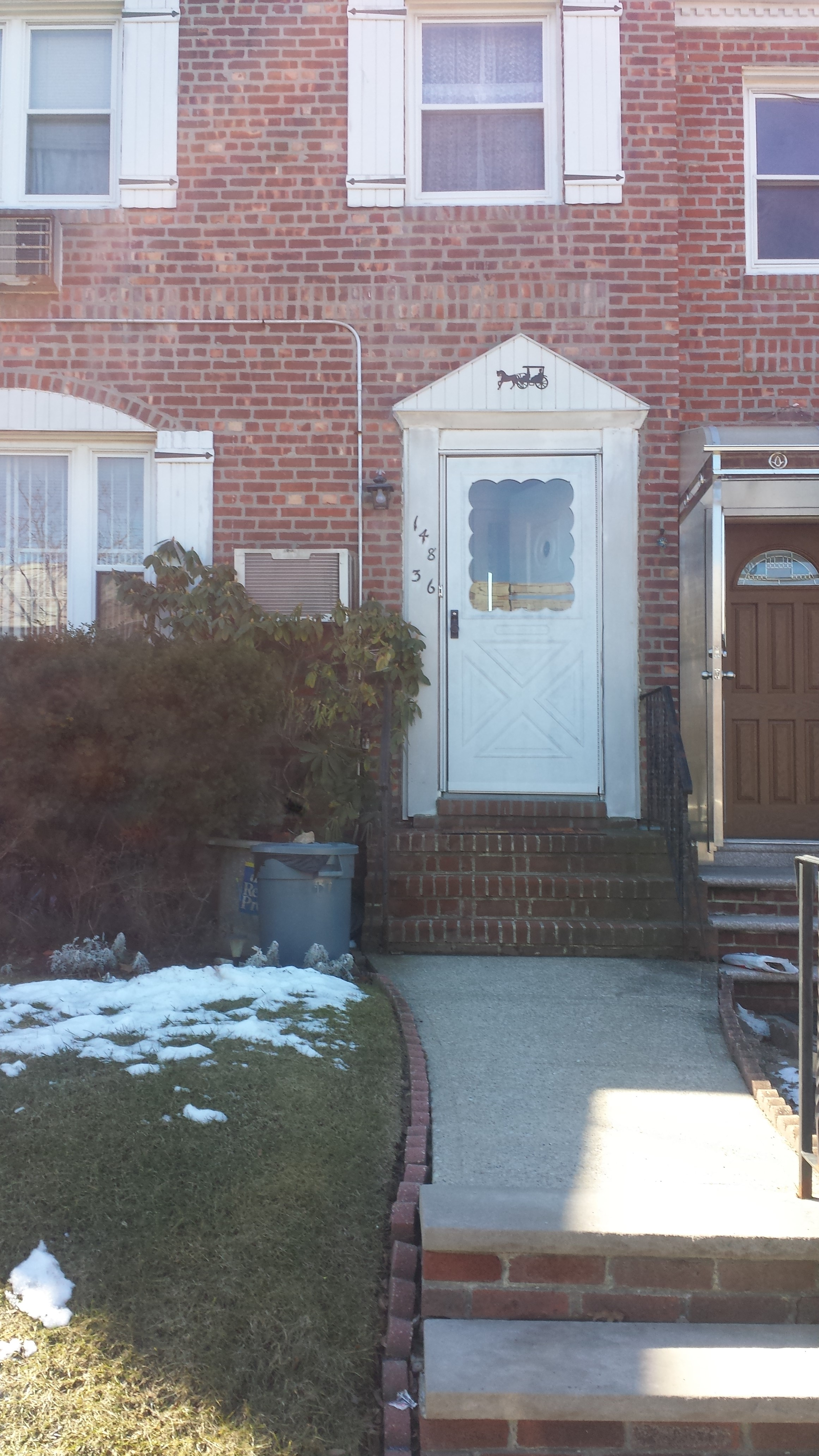 Attached Colonial Living Room, Formal Dining Room, Eat-In-Kitchen, 3 Bedrooms, 1.5 Baths, Full Basement, Great Potential