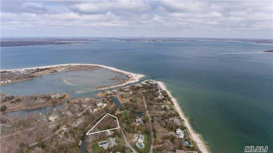 Rare Opportunity To Custom Build Your North Fork Dream Home. Prime .44 Acre Waterfront Parcel With Survey, Nys Dec, Board Of Health, And Southold Town Trustee Permits In Place. Steps To A Private Sandy Association Bay Beach And Close To Cedar Beach Park. Be Ready To Build In 2018!
