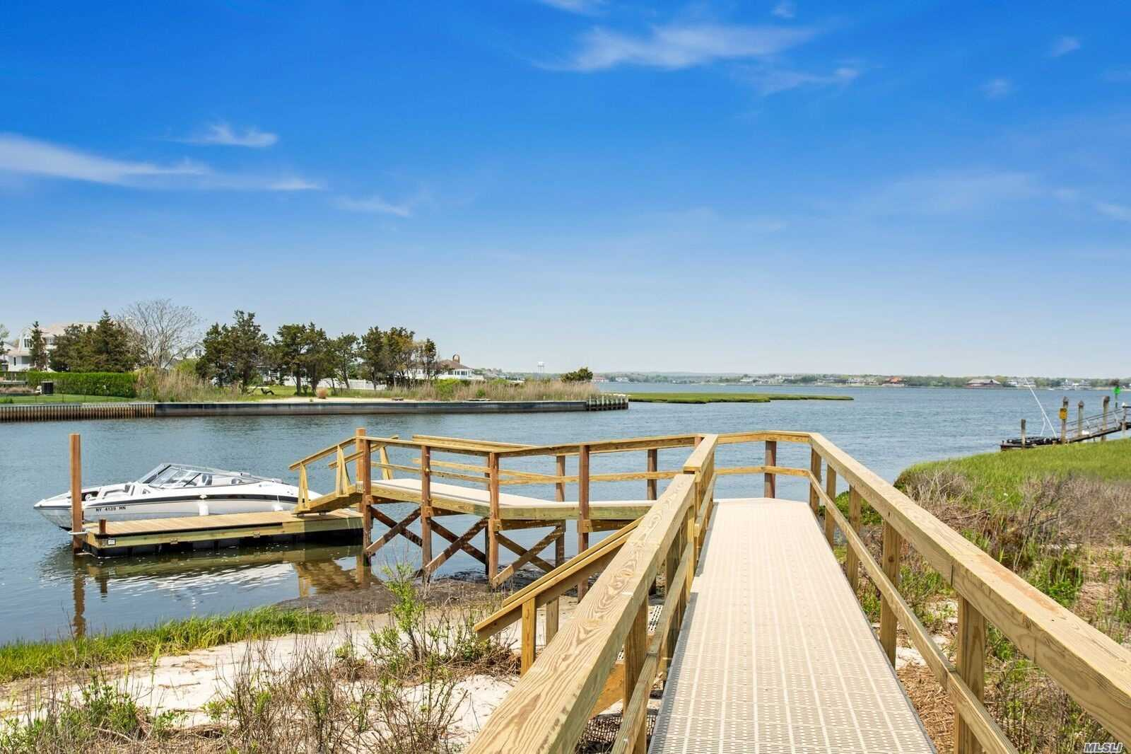 Spectacular 6, 000 Sqft New Construction In Westhampton Beach On Pristine 3 Acre Bayfront Parcel On World Renowned Dune Rd With Deepwater Dock, Saltwater Heated Gunite Pool And Cabana. Complete With 7Bed/7Bath, 2 Car Garage, And Deeded Oceanfront Access Just Feet From Your Front Door!! Enjoy A Summer Lifestyle Like No Other Making This The Perfect Hamptons Summer Getaway!!