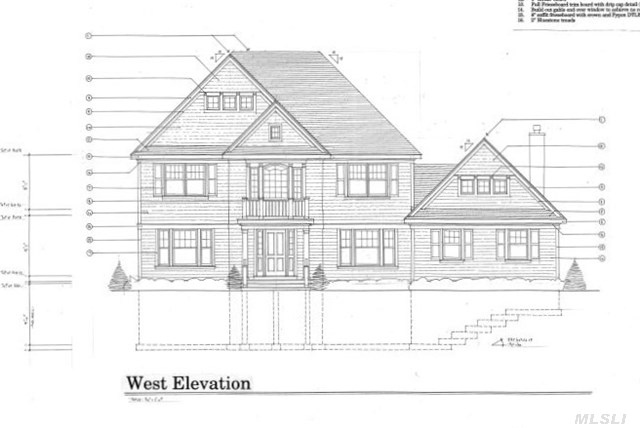 Superb New Construction. 3600Sq Ft Of Luxury On A Pvt Cul-De-Sac To Be Built. Finest Materials & Craftsmanship. Architectural Appointments Throughout. Master Suite With Tray Ceiling And Walk In Closet. Designer Master Bath With Soaking Tub And Separate Shower. Gourmet Kitchen. 550 Sqft Bonus Rm. High End Quality Throughout!