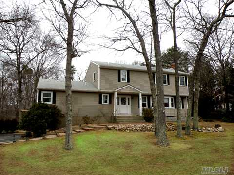 Spacious 5 Br Home With 2 Master Suites In Wooded Community On Beautiful Shy Acre.  New Granite & Maple Kit With Porclain Floor,Oak Flrs,Brick Fpl,New Windows,New Bth,Daylight Bsmt W/Ose. Taxes Being Greived.