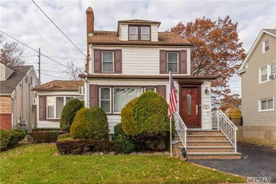 Beautiful & Well-Maintained Colonial In The Gibson Area Sd#24! This Spacious House W/ An Open Concept Is Sure To Impress! House Boasts A Large Lr W/ Wood-Burning Fpl & Stone Wall, Formal Dr, Kitchen W/ Granite Ctrps/Ss Appl/Island, Den Extension, Beautiful Hw Flrs, Finished Attic, Alarm, Igs, Cvac, 150Amp Elect, New Front Stoop, 2-Car Garage & Large Basement! Close To Lirr.