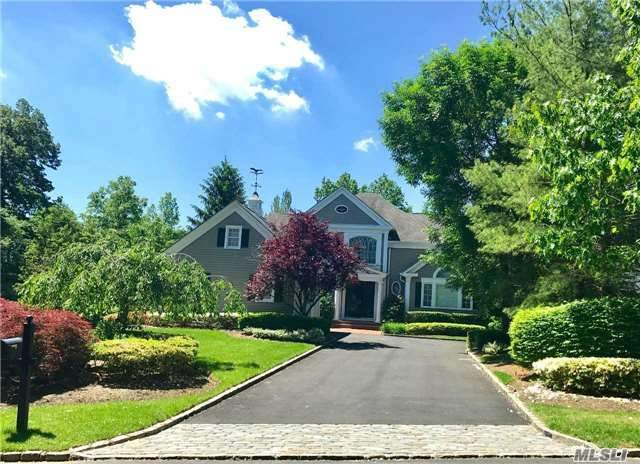 Vineyard Colonial In Gracewood. 4 Bedrooms (Fourth Bedroom On Lower Level,  2.55 Baths Approx. 16, 000 Sq. Ft Lot. Wine Cellar, Mansion Clubhouse With Indoor/Outdoor Pools, Tennis Courts & Playground. 4470 Interior Sq Ft Includes Lower Level. Lofted Ceilings With Detailed Moldings & Cabinetry.