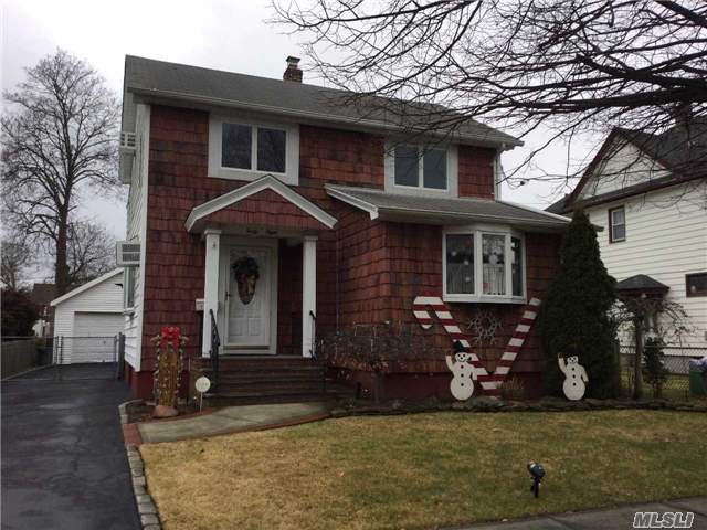 Mint & Warm Colonial. Legal 2 Family Status But Set Up Currently For 1 Family. Open Layout For Eik & Dr. Perfect For Family Entertaining. Great Finished Basement. Sliders From Eik To Deck & Fenced Yard. Master Br W/ Cathedral Ceiling And Alcove For Office Or Nursery . Ready To Go