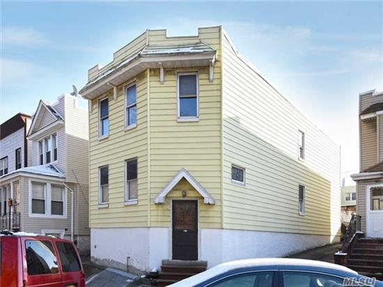 *** Legal 2 Family, Large 2 Family***Fully Detached Large 2 Family Home In Excellent Neighborhood. 1st Floor Apartment Fully Renovated. 2nd Fl Apartment In Average Good Condition.Close To All Transportation And Ammenitiies. Zoned For Elementary And Middle School P.S./I.S. 113 Anthony J. Pranzo (Q113) And For H. School Queens Metropolitan (Q686).