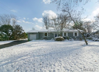 Holiday Special!! Must See This Beautiful Totally Renovated 3/4 Bdrm, 2.5 Bth .Ranch In Elwood Sch Dis. Lg Eik W Granite & F/P. Sunroom Off Kit. Gleaming Hardwood Floors, New Siding, Driveway , Windows & Finished Bsmt. Just Shy Of .5 Acre, Fenced In Flat Back Yard, Room For Pool. Hot Tub, Trex Deck, Alarm System Many Extras, Too Much To List. Great Location, Close To All!!