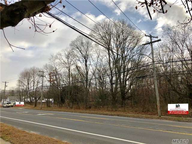 Calling All Developers And Investors. 2 Acre Shovel-Ready Commercial Property For Sale That Is Approved For Up To A 9, 000 Square Foot Building. J-Business Zoning. Use For Medical, Health Spa, Gym, Professional Office Space+++.  251' Of Frontage On Busy Montauk Highway.
