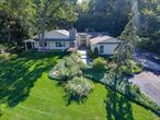 Privacy Seekers Delight! Sprawling 4Br/3.5Bth British Colony Ranch With Wrap Around Porch With Spectacular Winter Waterviews Of The Li Sound To Ct & All Year View Of Fresh Pond. Tons Of Natural Light. Gleaming Hdwd Flrs, Freshly Painted. Many Updates! Beautifully Finished Bsmt W/Billiard Rm, Den, Full Bth W/Steam Shower & Office. The Home You Deserve & More...