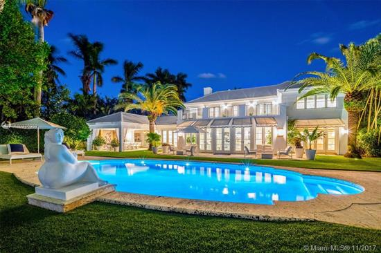 One Of Miami'S Most Sought After Classic Estates. Fully Renovated Charming Mansion Located On Prestigious North Bay Road, This Home Embodies Prime South Florida Living. Spectacular Views Of Biscayne Bay And Downtown Miami Skyline. Perfectly Manicured Grounds Surround A 3 Car Garage, 4 Bedroom Guest House, Summer Kitchen, Inviting Driveway, And Abundant Courtyards Perfect For Relaxation And Privacy. Boaters Welcome With 139 Feet On The Water Complete With Oversized Dock.