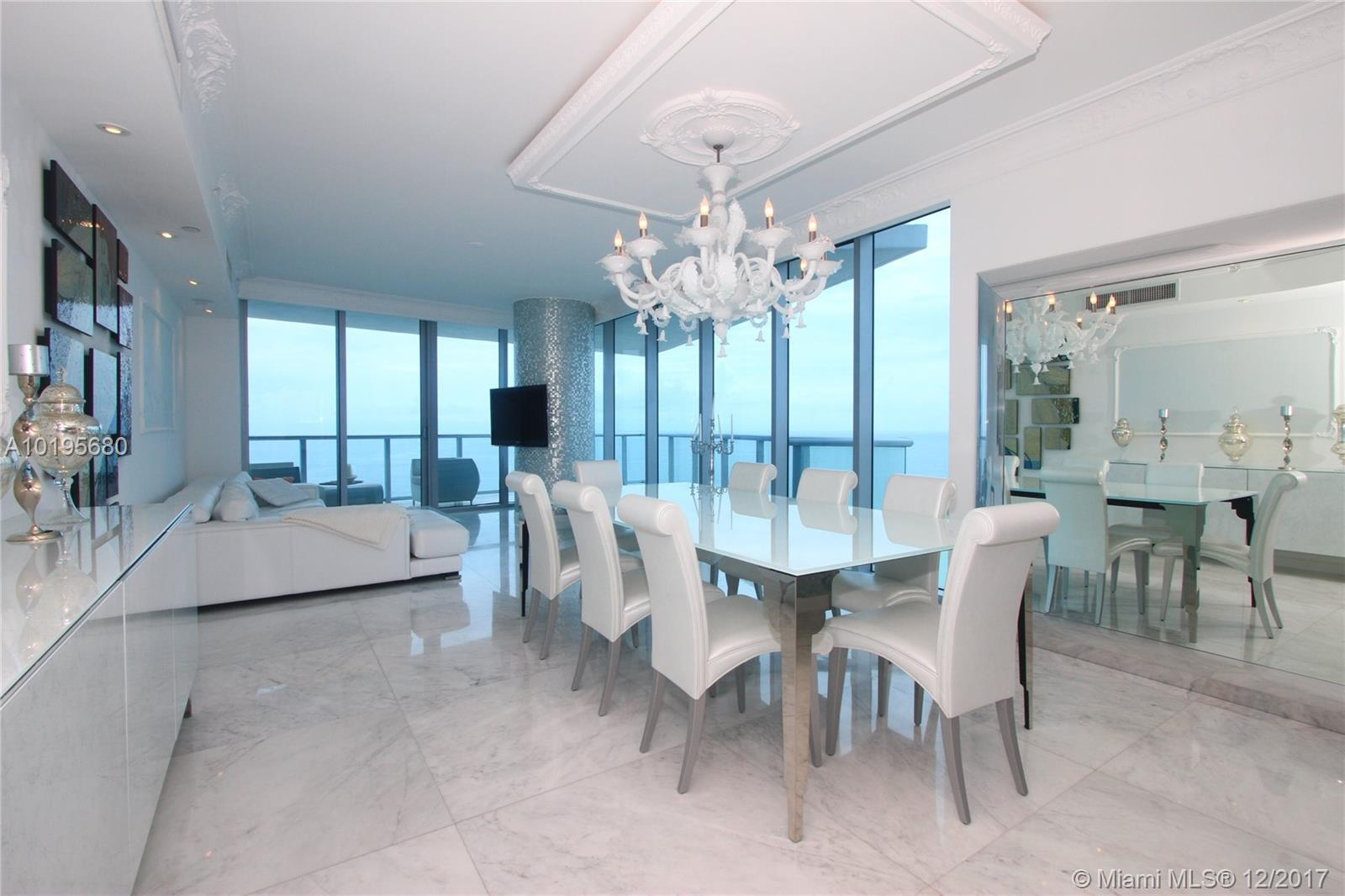 Spectacular Direct Ocean Views From This Professionally Designed And Furnished Se Corner Unit. 3 Bedroom / 3.5 Baths. In Exclusive Jade Beach In Sunny Isles! Top Of The Line Finishes, Modern - Glamour Style! No Pets! 6 Month Minimum
