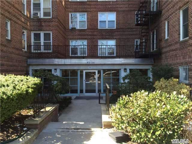 Tlc, Sale As Is! 2 Bedrooms Apartment On The 3rd Floor Approximately 800 Sq Ft Maintenance Included Everything. Close To Kissena Blvd With Restaurants, Shops, Buses, School Etc.