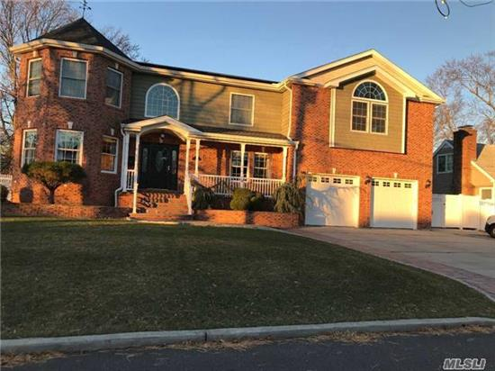 Gorgeous Custom Built 5, 000 Sf Colonial On Quite Dead End Street. Entry Foyer W/Inlay, 5 Brs, 3.5 Bths, Oversized Rooms With Master Ensuite And Walk-In Closet In Every Room. Chefs Eik W/9' Island, Walk-In Pantry, Cathedral Ceiling In Den W/Gas Fp, Fdr, Mudroom, Amazing Open Layout For Entertaining. Full Basement With 8' Ceilings. 2.5 Car Garage, Trex Deck, Move-In Ready!