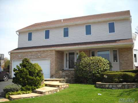 One Of The Largest Waterfront Homes In South Bellmore That Has Both Land & Great Water Frontage.Pool And Hot Tub. Live The Waterfront Lifestyle....